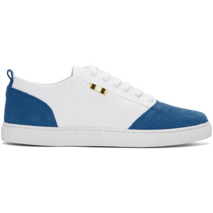 APRIX BLUE AND WHITE APR-001 SNEAKERS