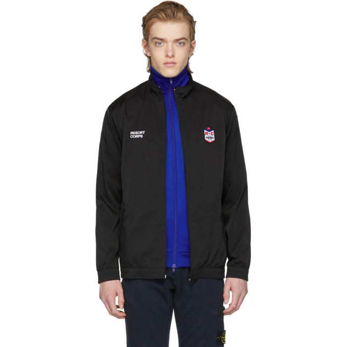 RESORT CORPS Resort Corps Black Save Me From Judgement Patch Jacket