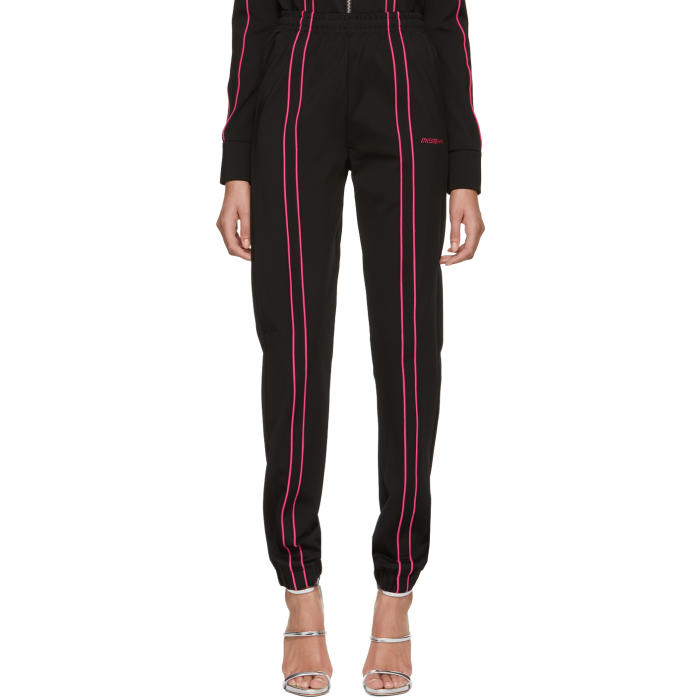 Misbhv Black & Pink Aspen Track Pants