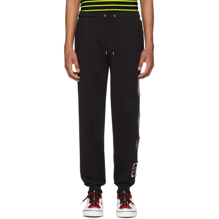 MCQ BY ALEXANDER MCQUEEN Mcq Alexander Mcqueen Embroidered Logo Track Trousers - Black, 1000 Black