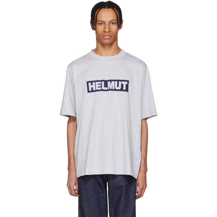 Men'S Logo Graphic Tall T-Shirt, Q91.Gry.Mel