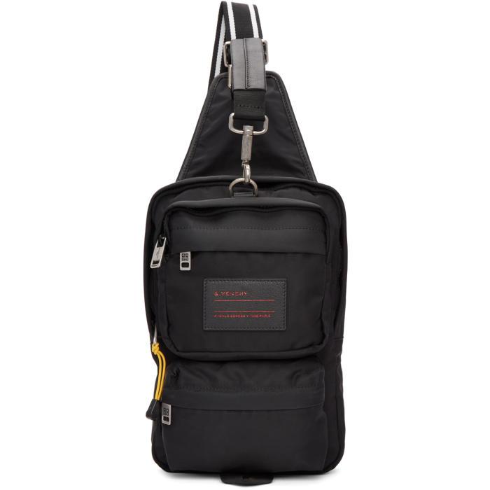 GIVENCHY Givenchy Ut3 Crossbody Backpack - Black, 001 Blk/Wht