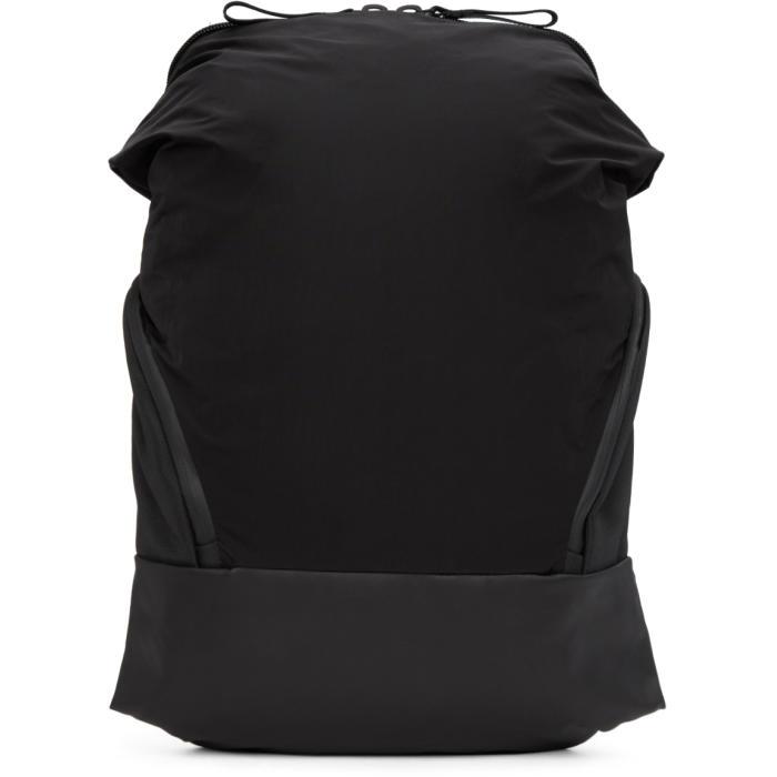 CÔTE AND CIEL Cote And Ciel Black Memory Tech Timsah Backpack
