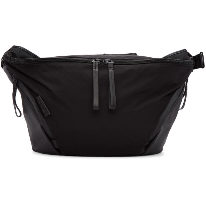 CÔTE AND CIEL Cote And Ciel Black Memory Tech Oder-Spree Messenger Bag