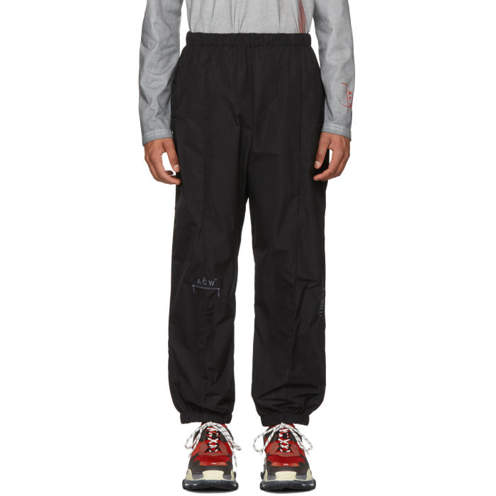 A-COLD-WALL* BLACK T5 LOUNGE PANTS