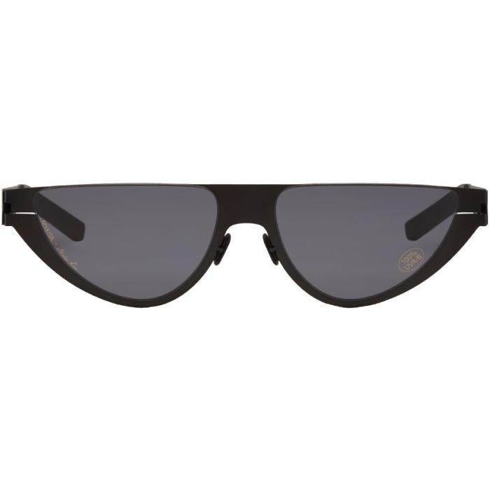 Martine Rose Black Mykita Edition Kitt Sunglasses