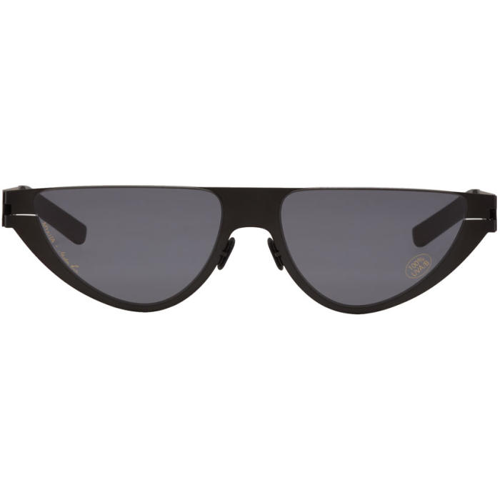 MARTINE ROSE Selina Sunglasses in 002 Black