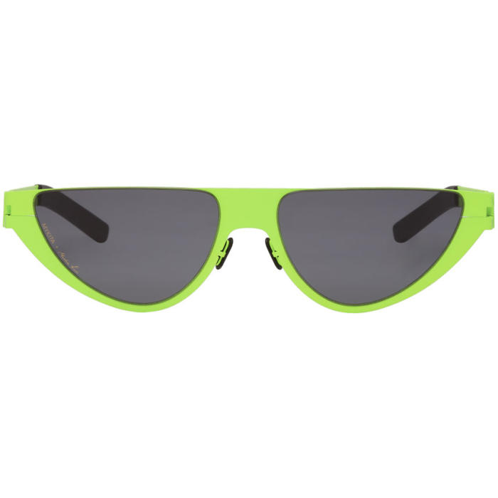 68a30571fea Martine Rose Kitt Sunglasses In 371 Newlime