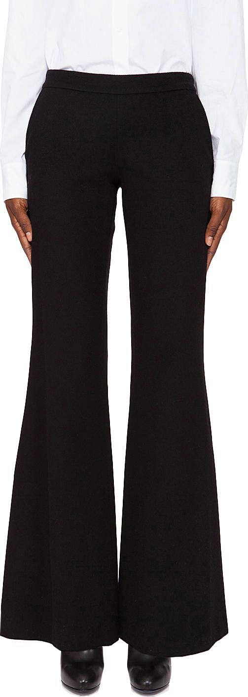 Hussein Chalayan Flare Trousers