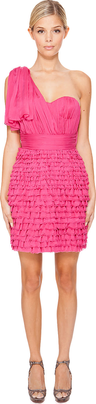 Matthew Williamson Shredded Chiffon Dress