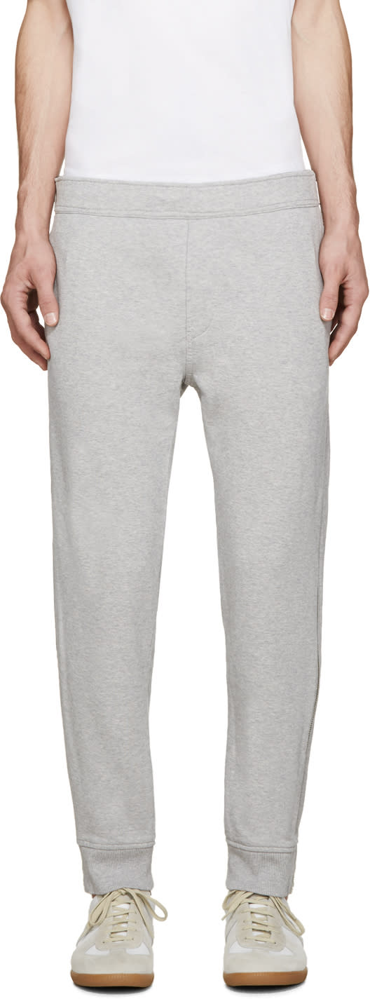 Diesel Grey Zipper P-zipo Lounge Pants