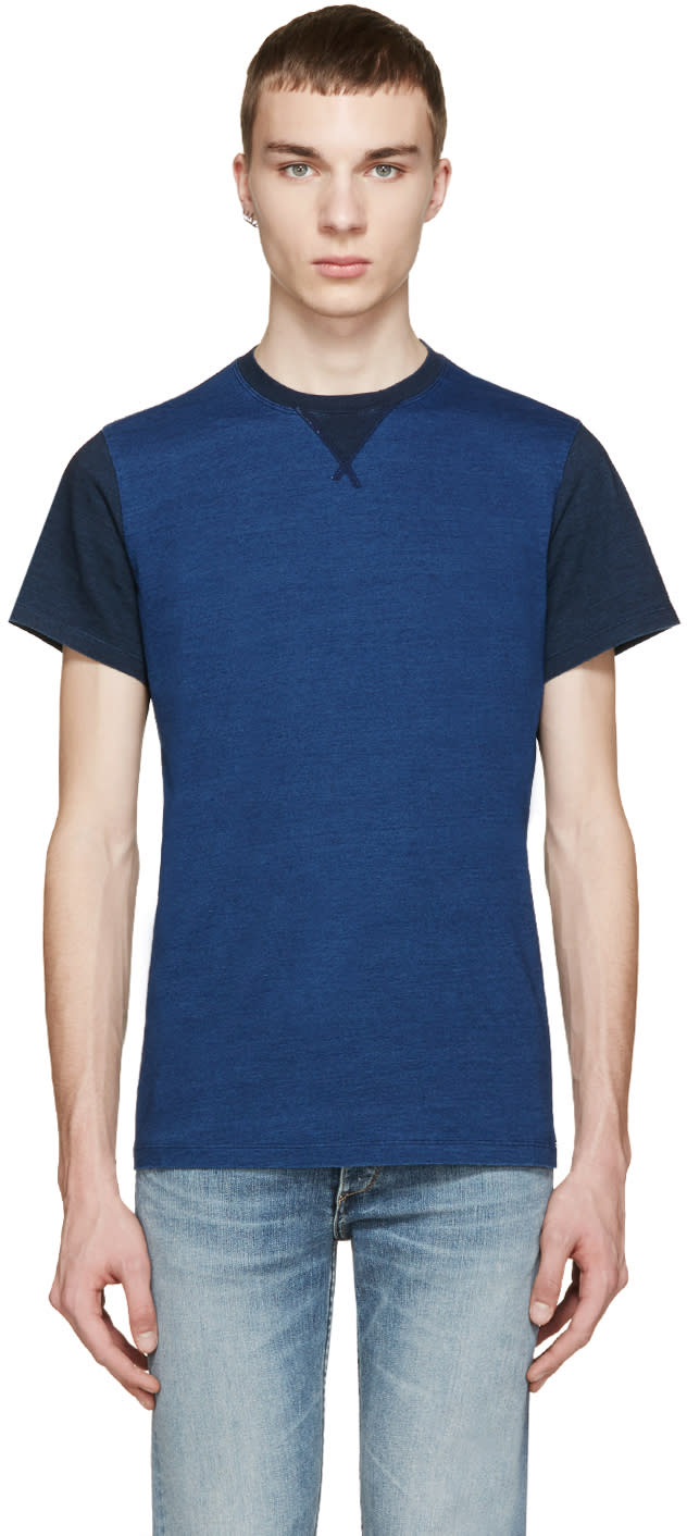 Diesel Blue T-alcor Shirt