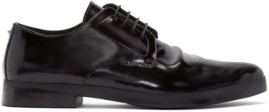 Diesel Black Leather D-rileey Derbys