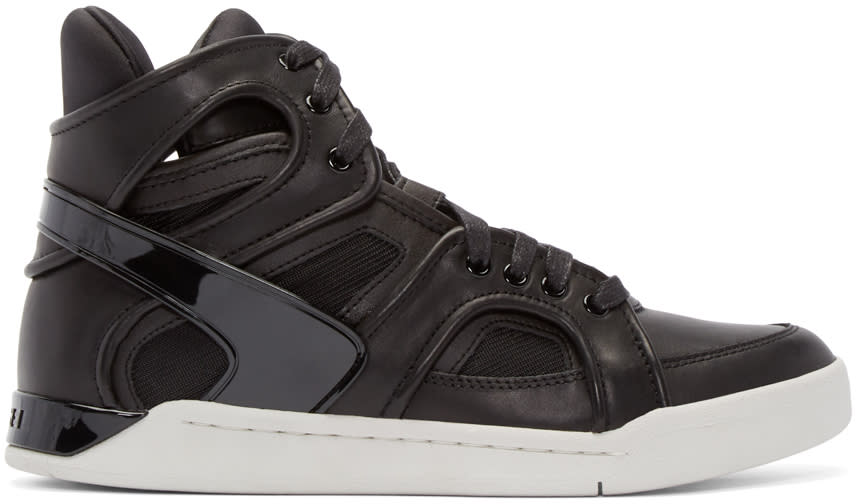 Diesel Black S-titann High-top Sneakers