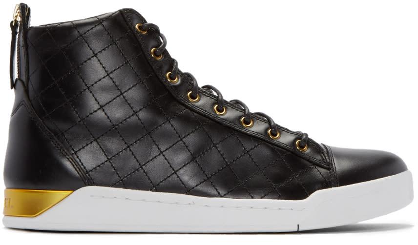Diesel Black Diamond High-top Sneakers
