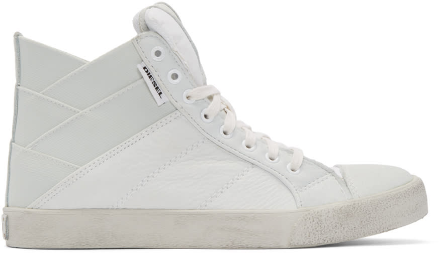 Diesel Off-white Tunnyungs High-top Sneakers