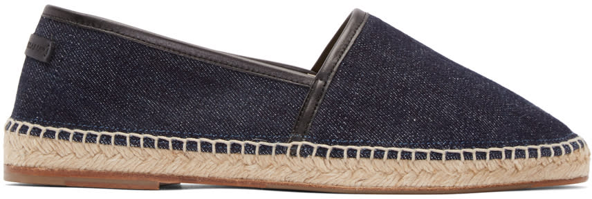 Dolce and Gabbana Indigo Denim Espadrilles