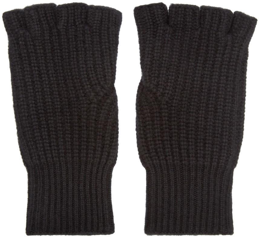 Rag and Bone Black Cashmere Kaden Gloves