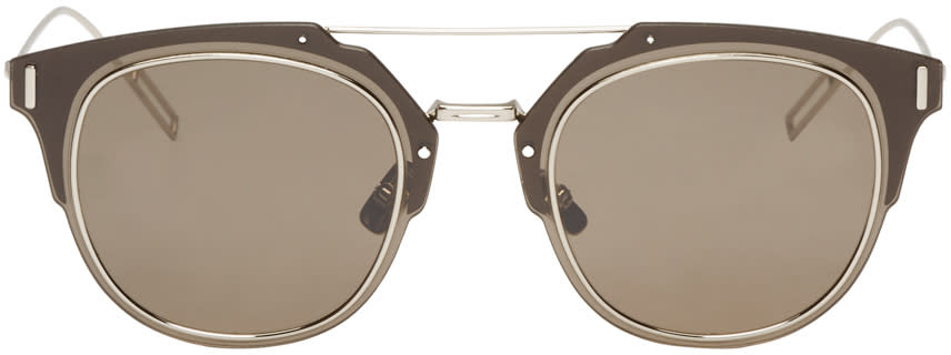 Dior Homme Brown Composit 1.0 Sunglasses