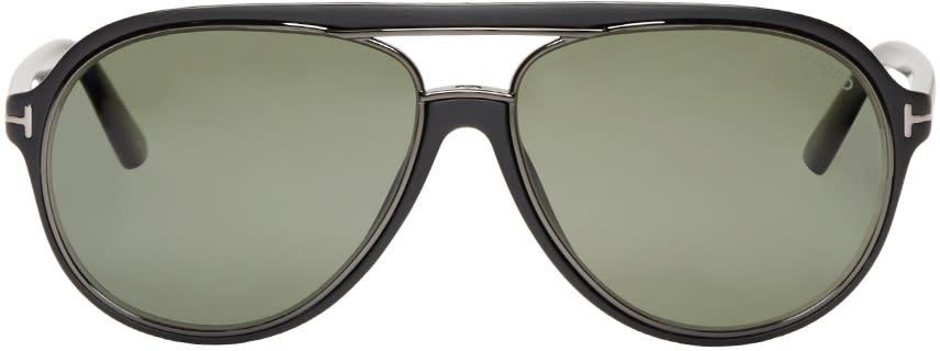 Tom Ford Black Matte Sergio Sunglasses