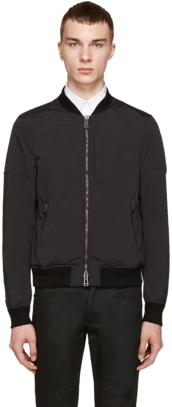 Belstaff Black Nylon Stockdale Jacket