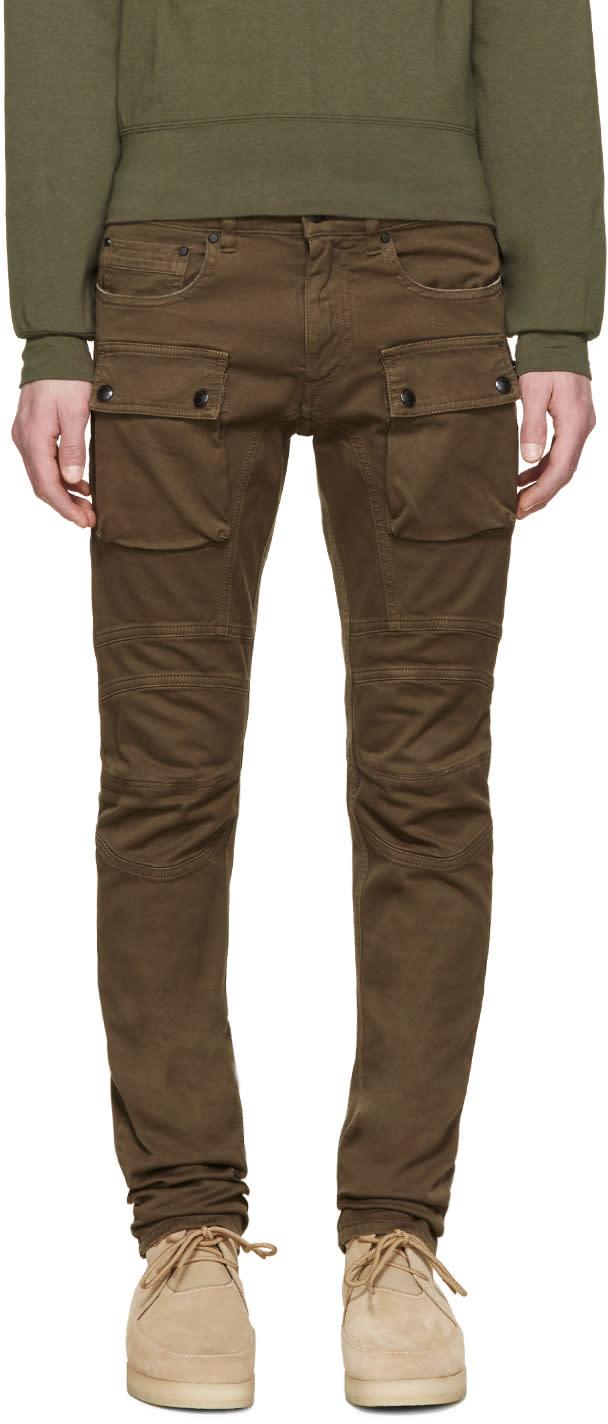 Belstaff Khaki Felmore Cargo Jeans