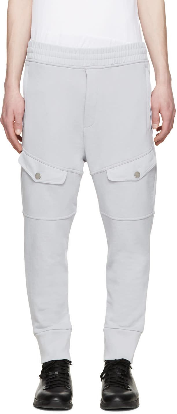 Diesel Black Gold Grey Cargo Pocket Lounge Pants