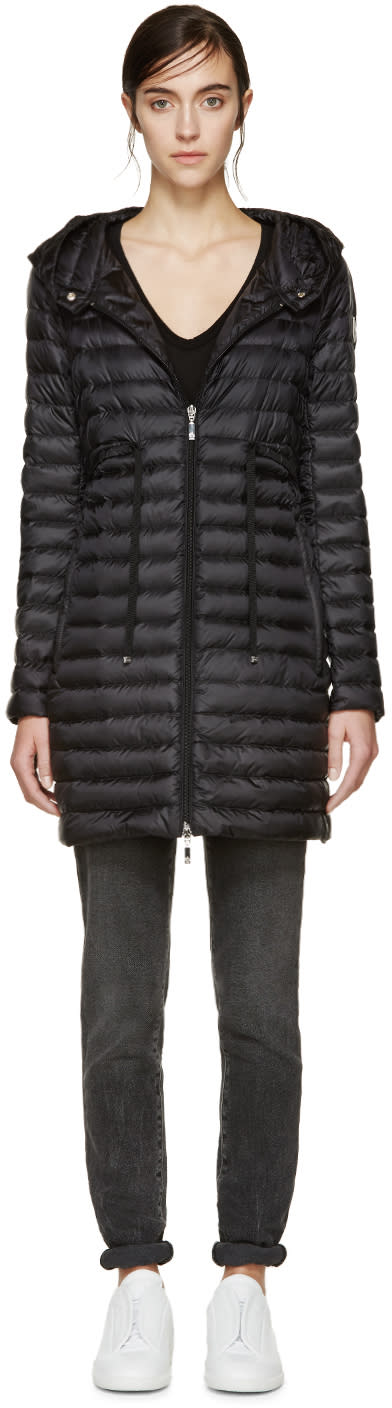 Moncler Black Down Barbel Jacket