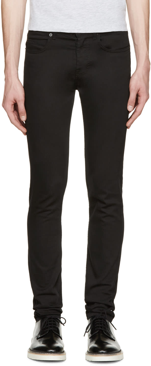 Mcq Alexander Mcqueen Black Strummer Jeans