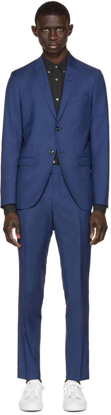 Tiger Of Sweden Blue Evert Suit