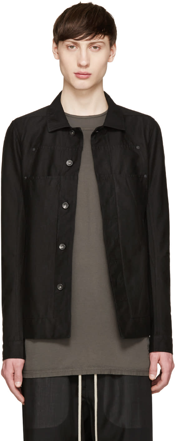 Rick Owens Drkshdw Black Lab Jacket