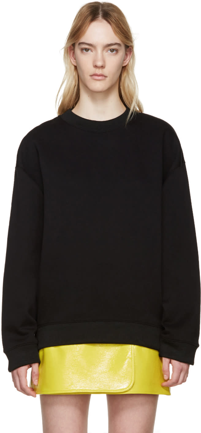 Acne Studios Black Beta Guitar Sweatshirt