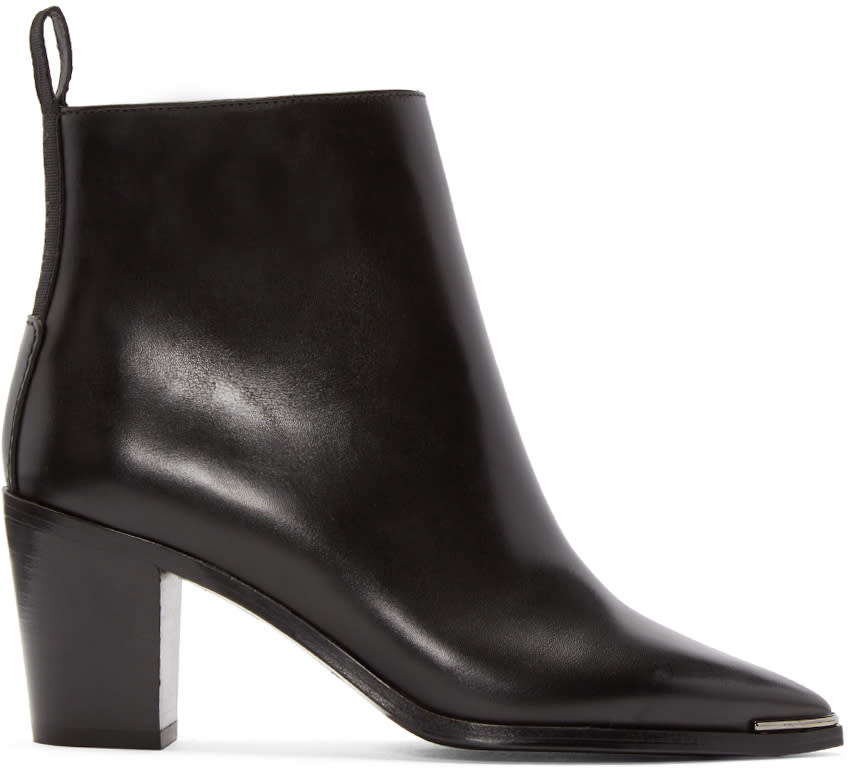 Acne Studios Black Loma Ankle Boots