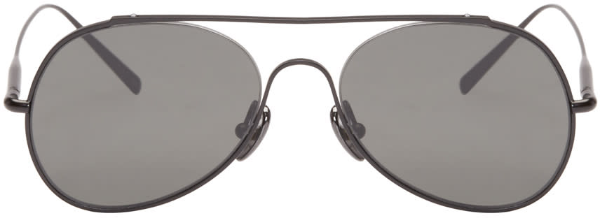 Acne Studios Black Small Spitfire Sunglasses