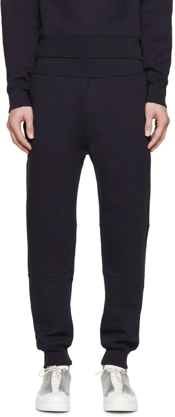 Acne Studios Navy Corben Sweatpants