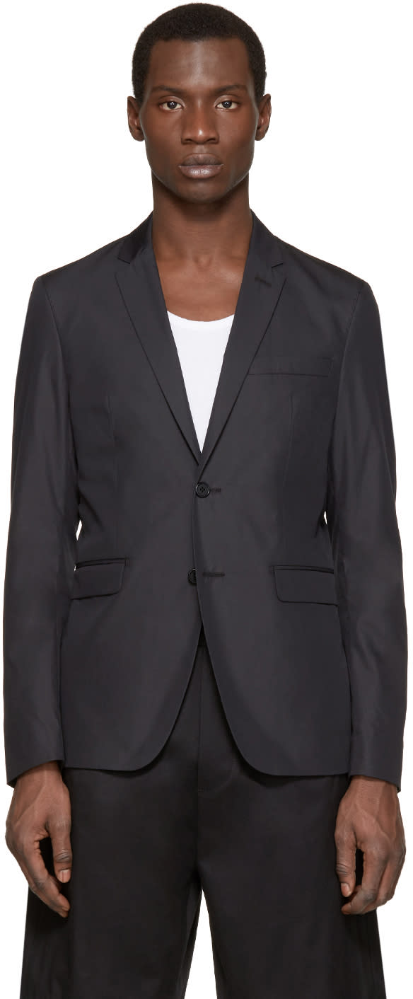 Acne Studios Black Aron J Pop Blazer