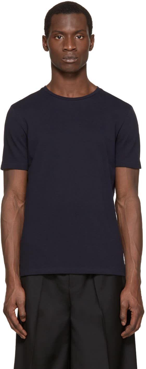 Acne Studios Blue Eddy Pique T-shirt