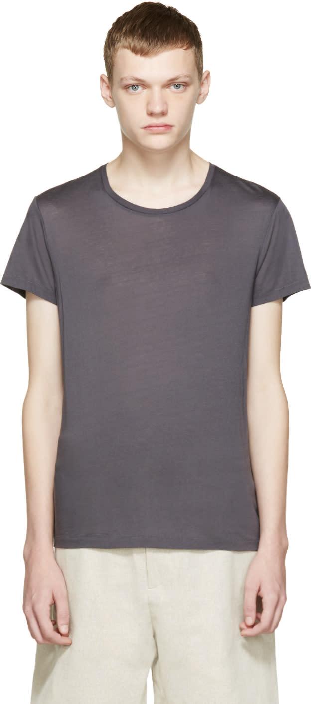 Acne Studios Grey Standard O T-shirt