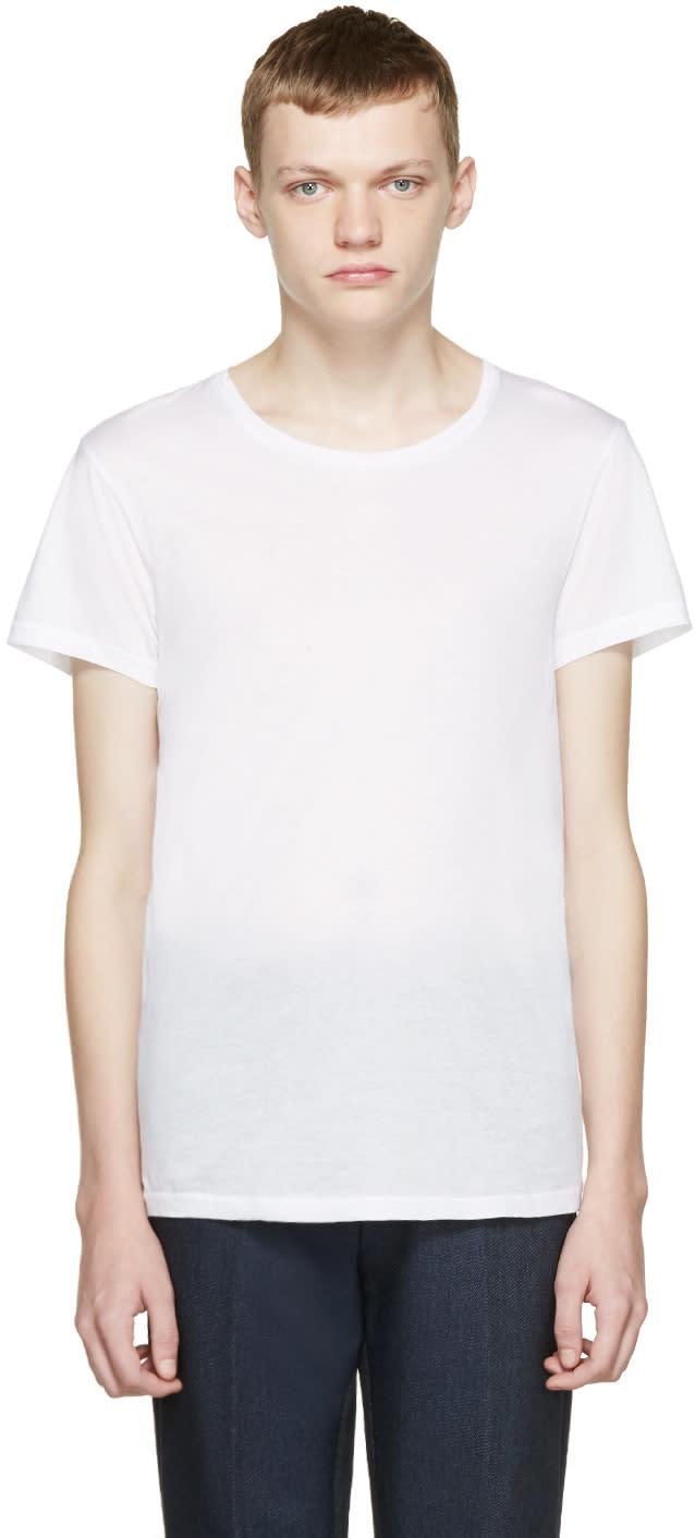 Acne Studios White Standard O T-shirt