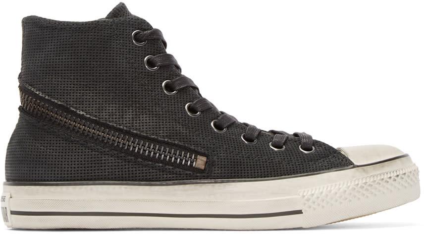 Converse By John Varvatos Black Tornado Zip High-top Sneakers