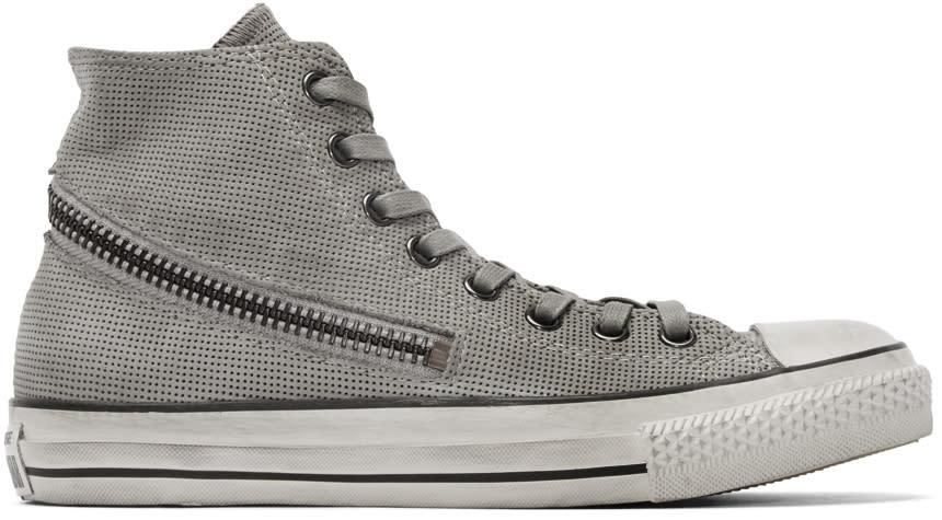 Converse By John Varvatos Grey Tornado Zip High-top Sneakers