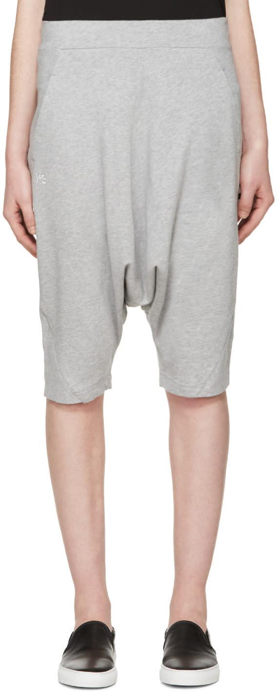 Y-3 Grey Summer Shorts