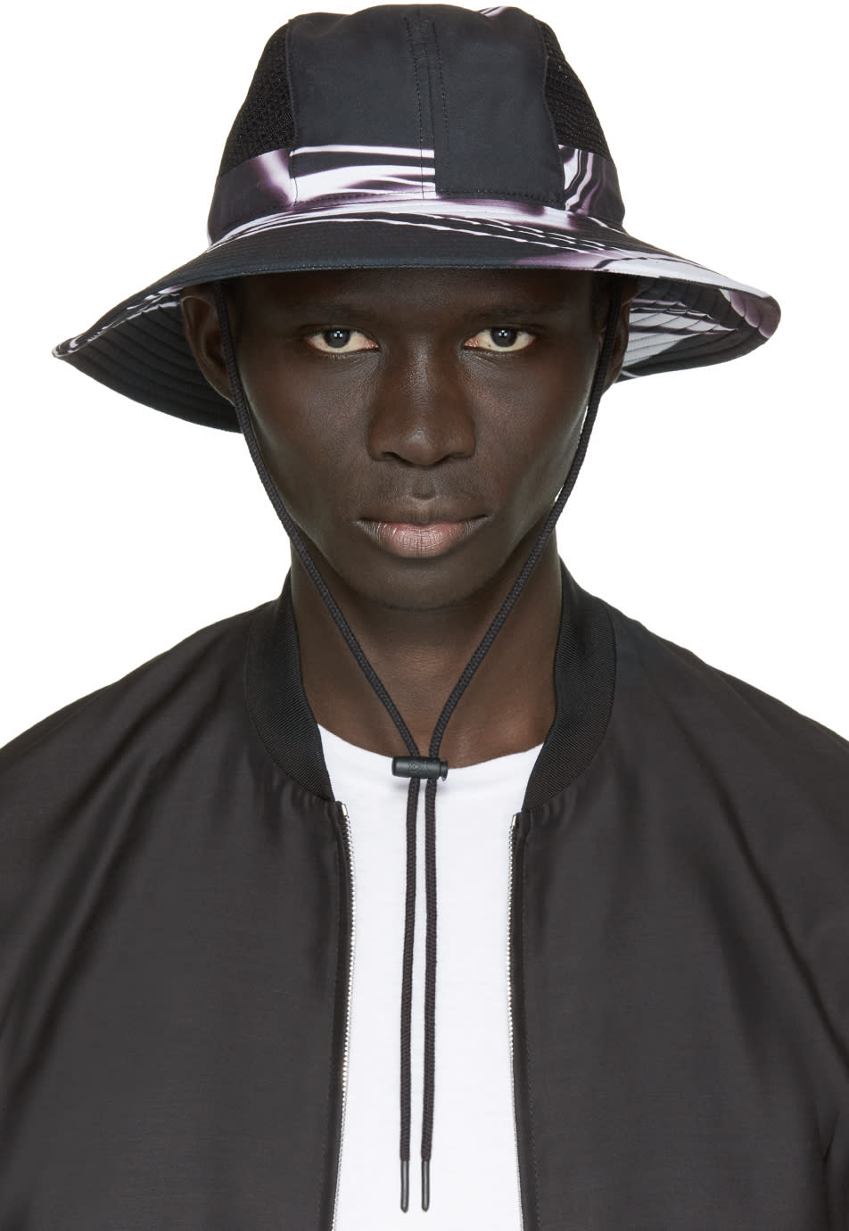 Y-3 Black Safari Hat