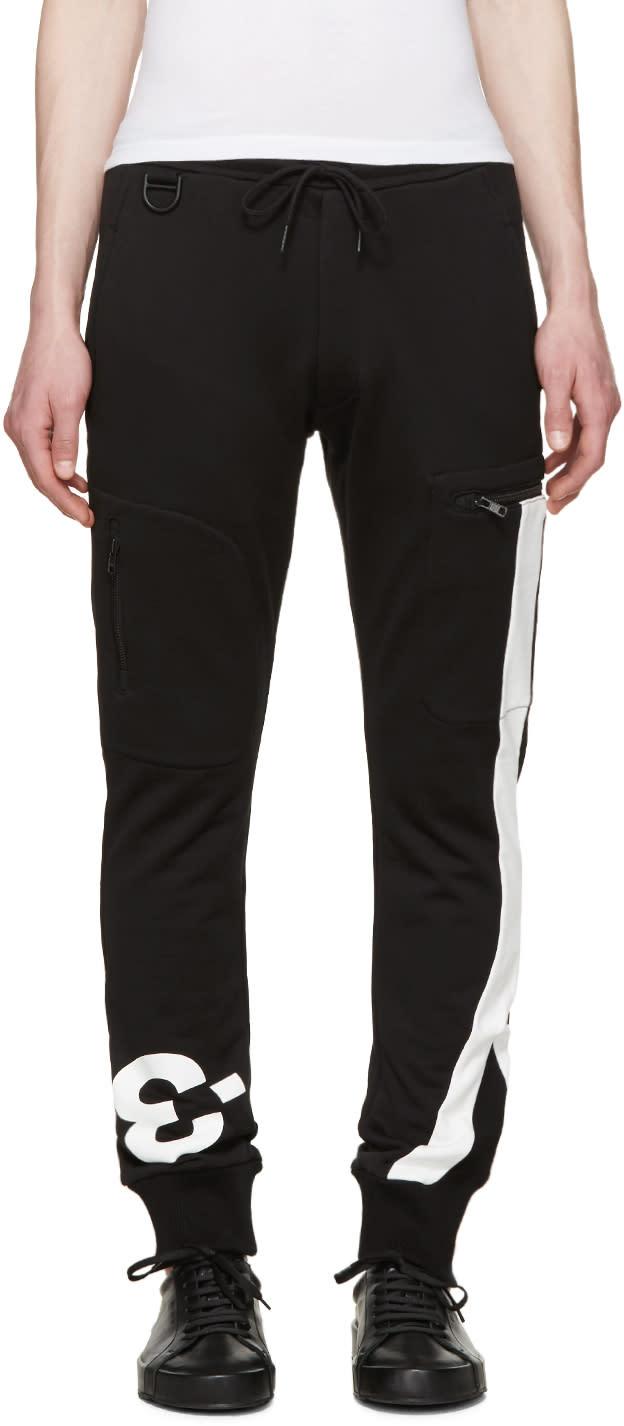 Y-3 Black Logo Lounge Pants