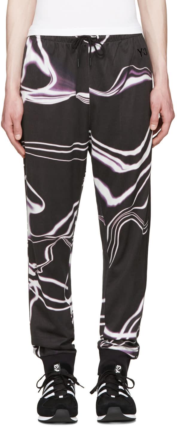 Y-3 Grey Motion Long John Lounge Pants