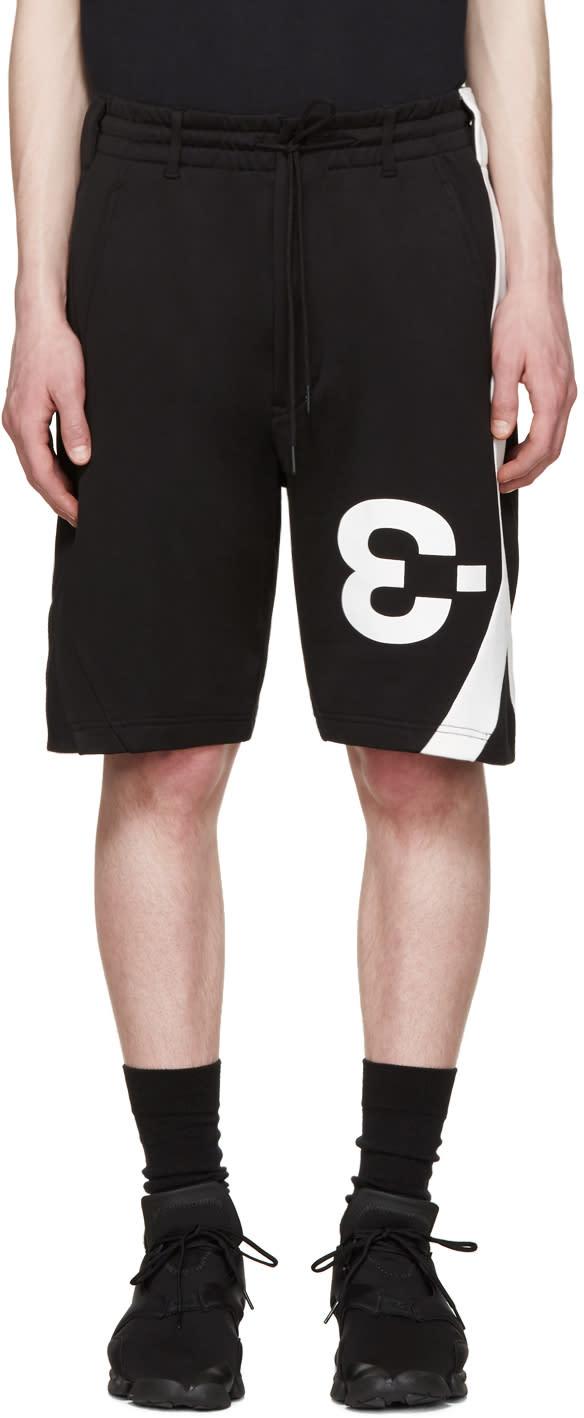 Y-3 Black Logo Shorts