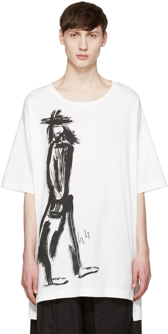 Y-3 White Yohji Uni T-shirt