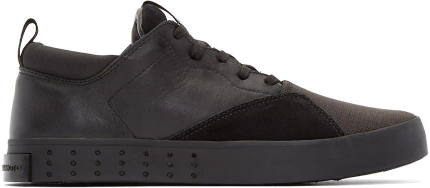 Y-3 Black Laver Sigma Sneakers