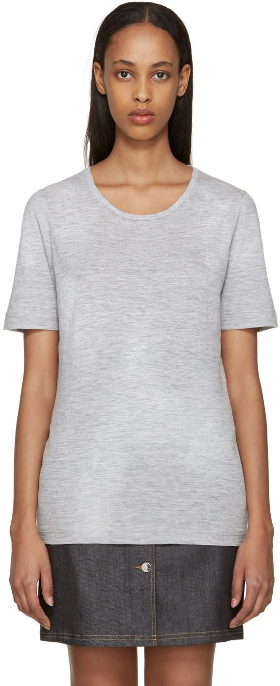 Dsquared2 Grey Painted Renny T-shirt