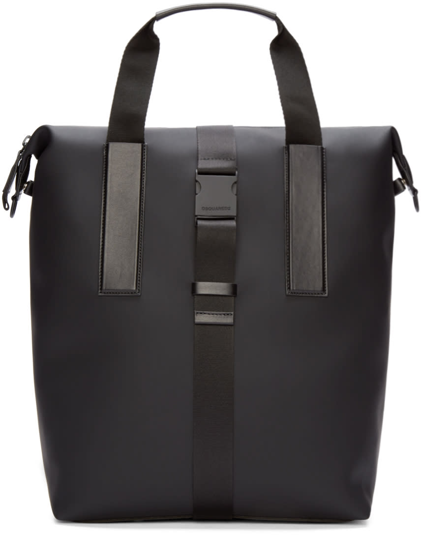 Dsquared2 Black Rubber Tote